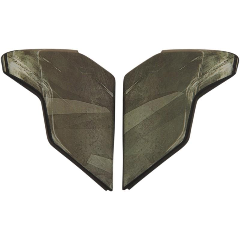 Заглушки визора Icon Airflite Battlescar - motodom.com.ua