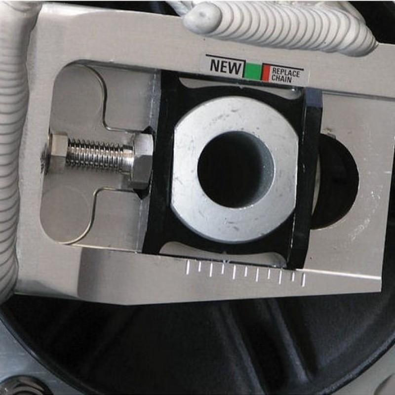 Алюминиевый блок регулировки цепи Pro-Bolt CBR600RR / CBR1000RR - motodom.com.ua