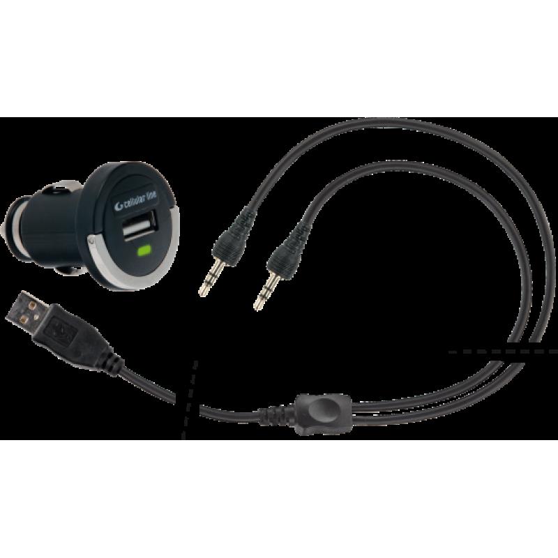 Зарядное в прикуриватель 12/24V Interphone Mini Connector - motodom.com.ua