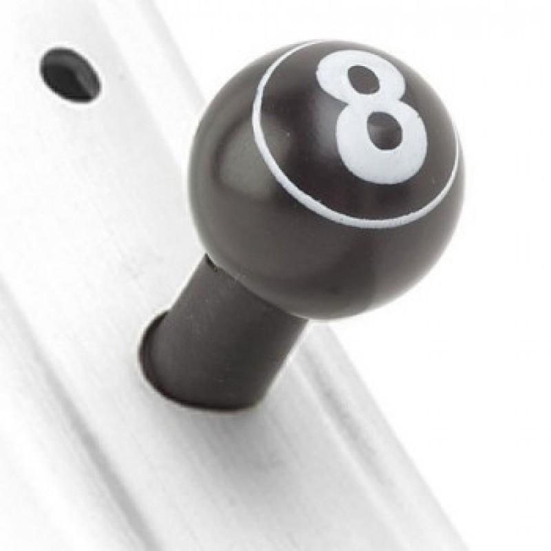 Колпачки на ниппели Oxford 8 Ball - motodom.com.ua