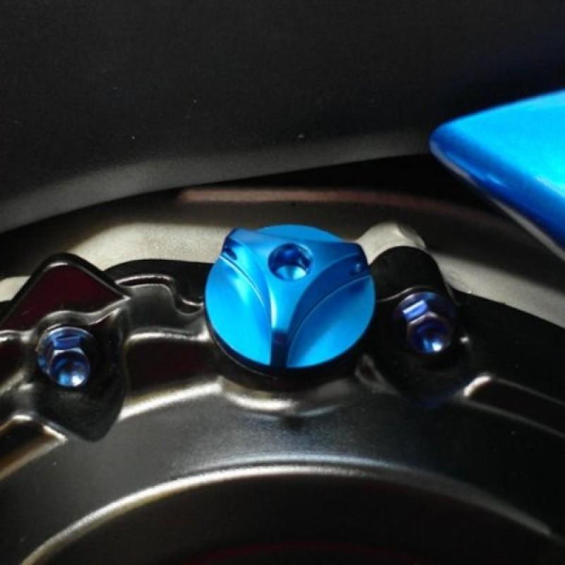 Алюминиевая крышка горловины залива масла Pro-Bolt Suzuki Cap M20 x (1.50mm) - motodom.com.ua