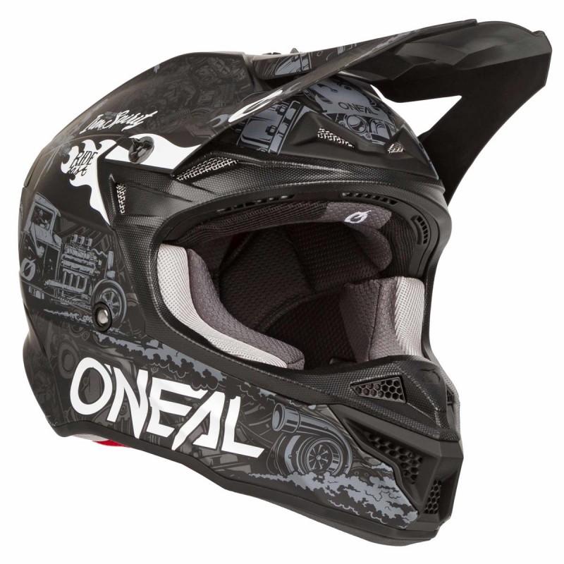 Мотошлем Oneal 5SRS Hot Rod - motodom.com.ua