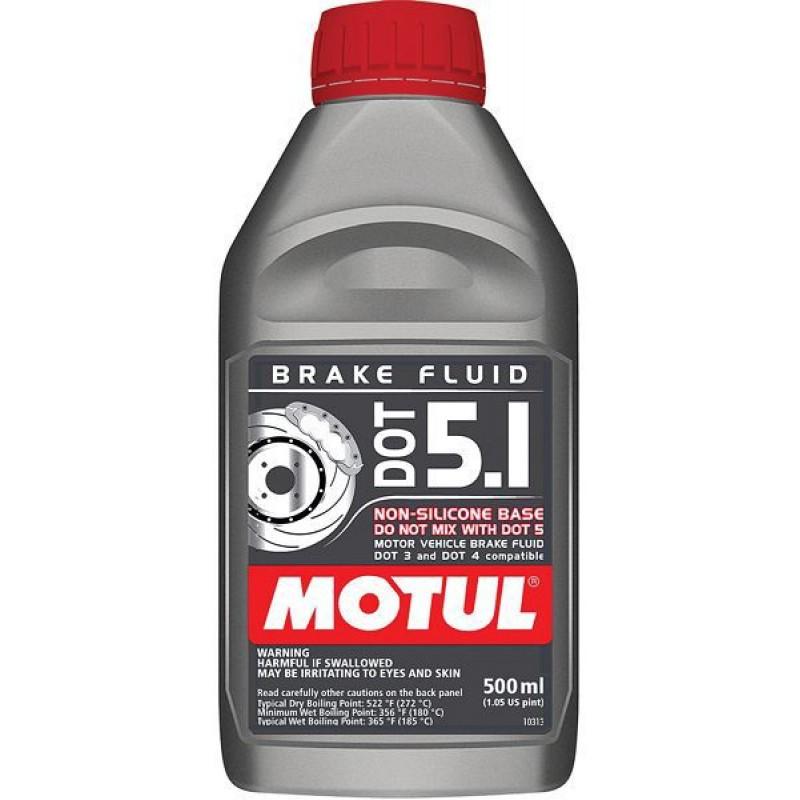 Жидкость тормозная Motul DOT 5.1 - motodom.com.ua
