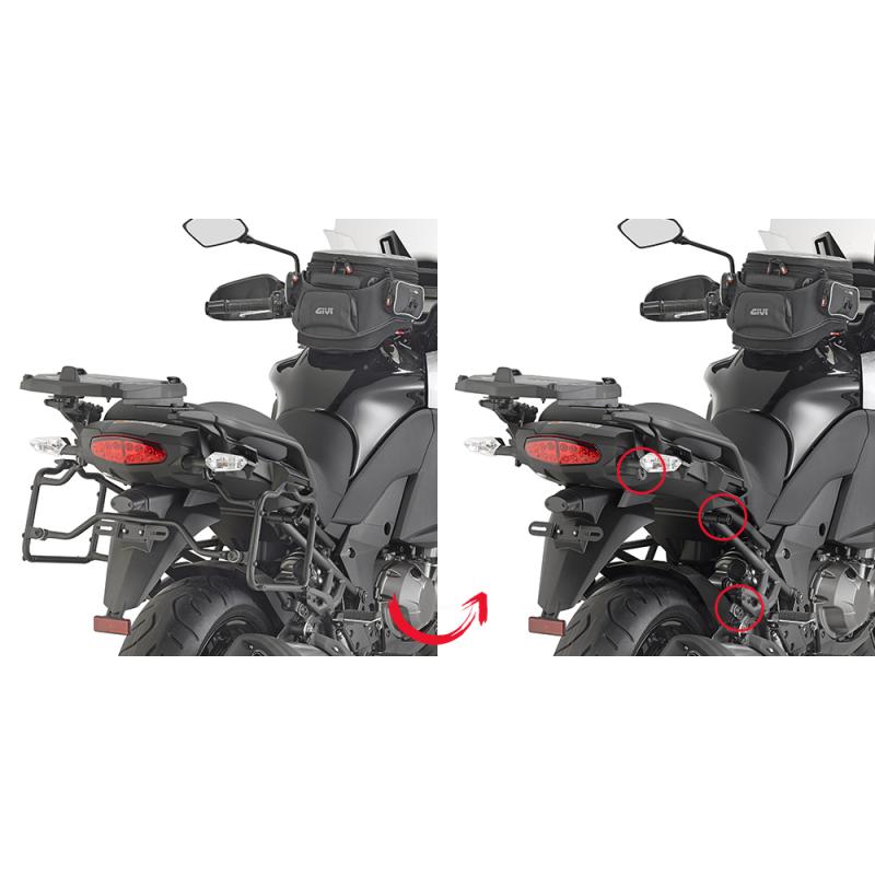 Крепление кофров Givi KLZ1000 Versys 2015-16 - motodom.com.ua