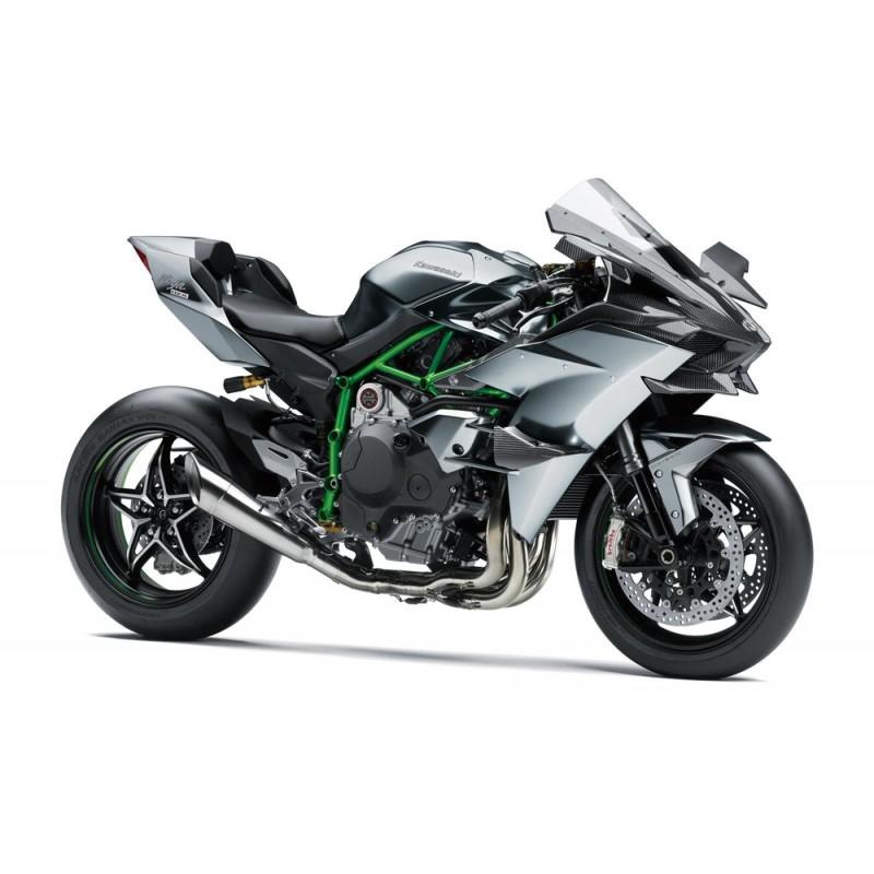Мотоцикл Kawasaki H2R - motodom.com.ua