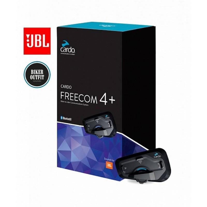 Мотогарнитура Cardo Scala Rider Freecom 4+ JBL Single - motodom.com.ua