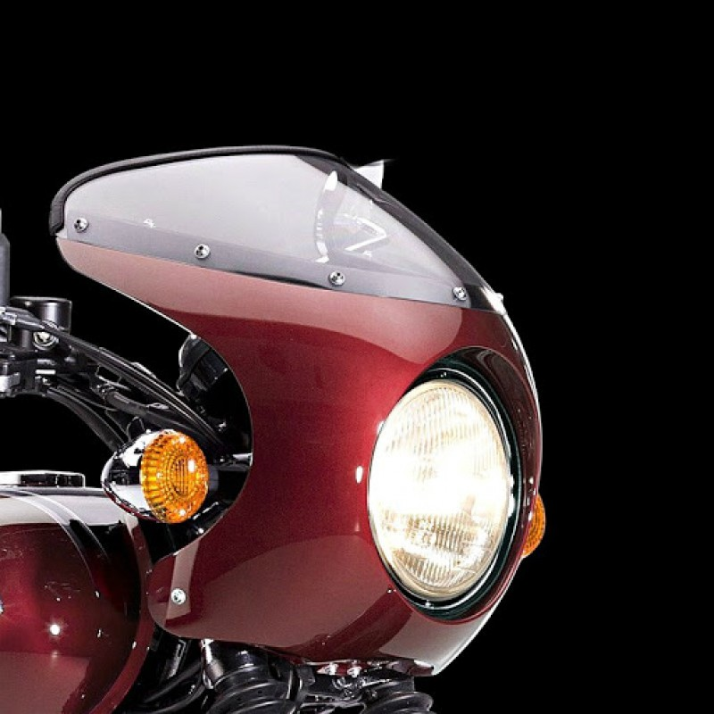 Ветровое стекло с обтекателем Kawasaki Bikini L1 W800 - motodom.com.ua