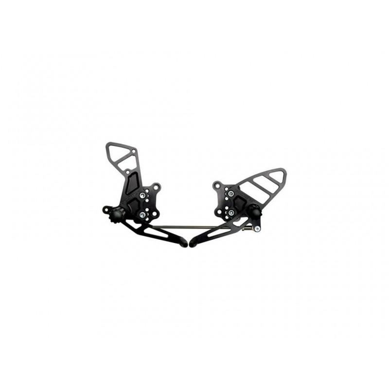 Комплект подножек Vortex GSXR600/GSXR750/GSXR1000 - motodom.com.ua