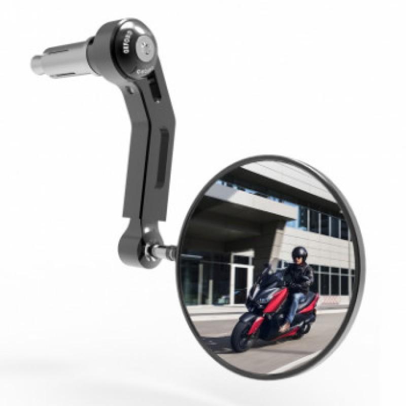 Зеркало Oxford Premium Aluminium в концы руля - motodom.com.ua