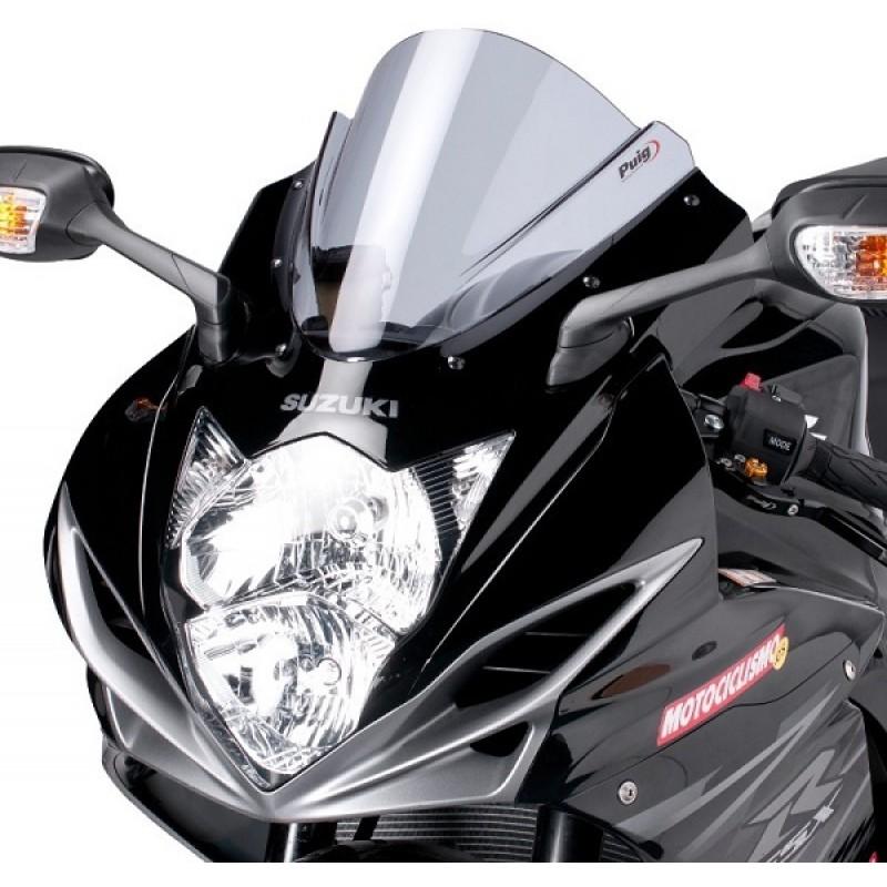 Ветровое стекло Puig Z-Racing GSX-R600 2011-17 / GSX-R750 2011-17 - motodom.com.ua