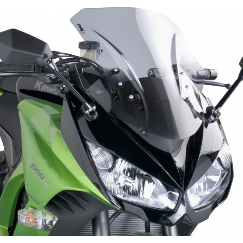 Ветровое стекло Puig Racing Z1000SX 2011-16 - motodom.com.ua