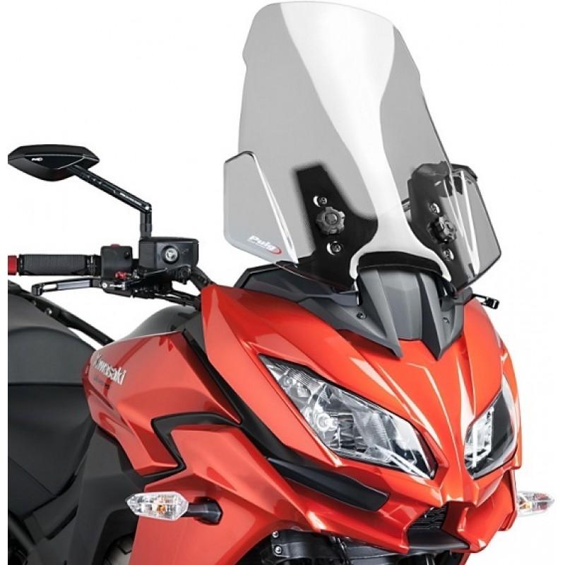 Ветровое стекло Puig Touring KLE650 Versys 2015-16 / KLZ1000 Versys 2012-16 - motodom.com.ua