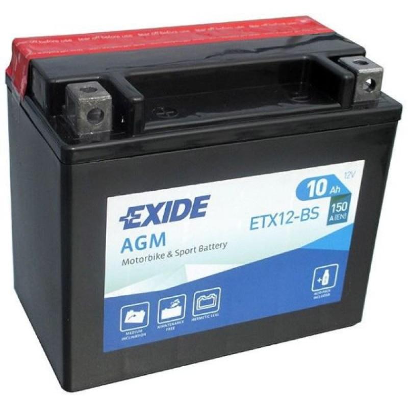 Аккумулятор Exide AGM - motodom.com.ua