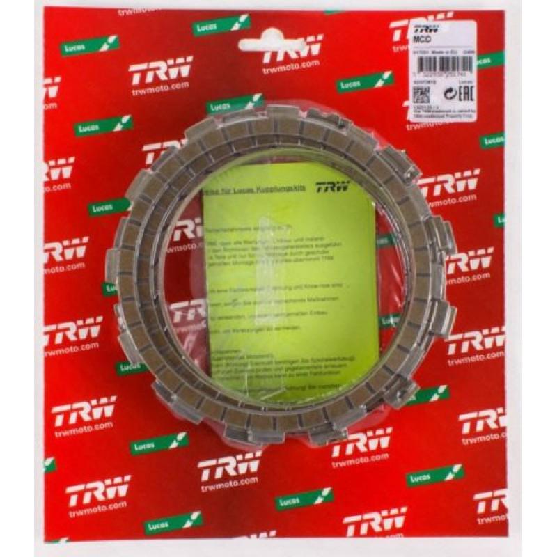 Диски сцепления фрикционные TRW MCC121-8 - motodom.com.ua