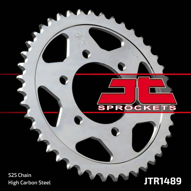 Звезда задняя JT JTR1489.41 Kawasaki Z1000SX 2011-19 / ZX10-R 2008-10 - motodom.com.ua
