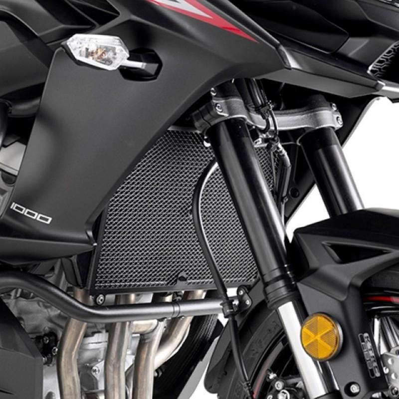 Защита радиатора Givi KLZ1000 Versys 2017-18 - motodom.com.ua